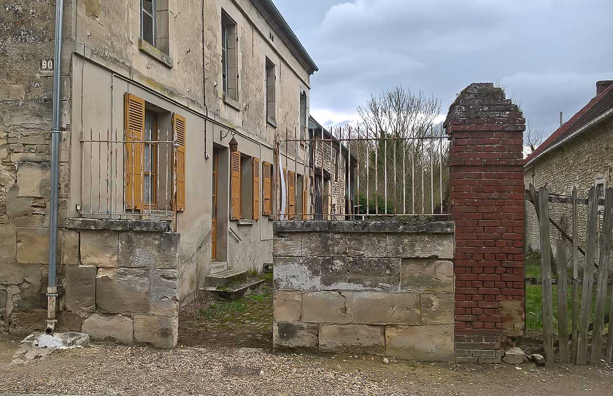 Rénovation d'une maison à Mouy - Oise
